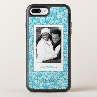 写真及び名前の海パターン オッターボックスシンメトリーiPhone 8 PLUS/7 PLUSケース