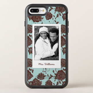 写真及び名前の花パターン3 オッターボックスシンメトリーiPhone 8 PLUS/7 PLUSケース