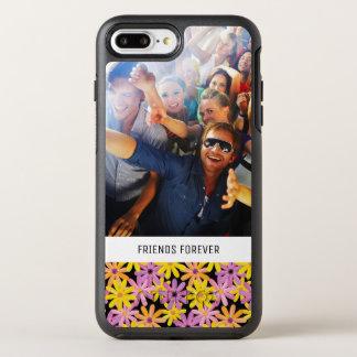 写真及び文字のガーベラの花模様 オッターボックスシンメトリーiPhone 8 PLUS/7 PLUSケース