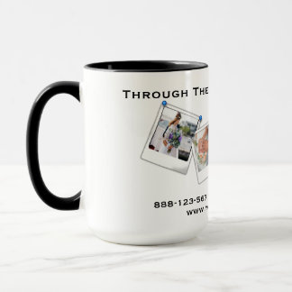 写真撮影のカメラマンのミニマルなプロフェッショナル マグカップ
