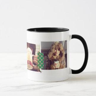 写真撮影のストリップのinstagramの写真のマグ マグカップ