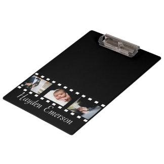写真撮影のフィルムのこまのカメラマンの写真 クリップボード