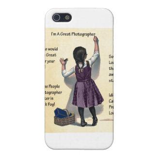 写真撮影のユーモア iPhone 5 ケース