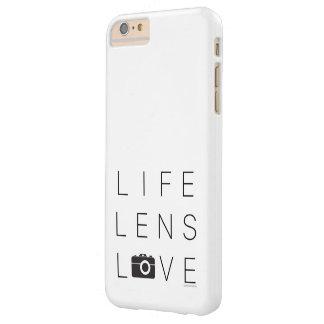 写真撮影のiPhone 6/6sの場合の愛のため Barely There iPhone 6 Plus ケース