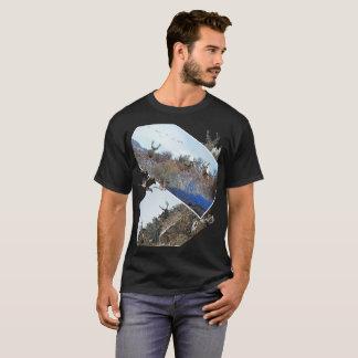 写真撮影のphotoshopの野性生物の芸術2 tシャツ