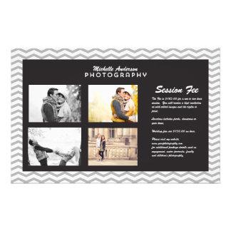写真撮影ビジネスのための大きいパンフレット 14CM X 21.6CM チラシ