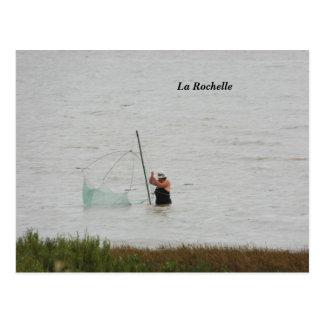 写真撮影ラロシェル、フランス- ポストカード