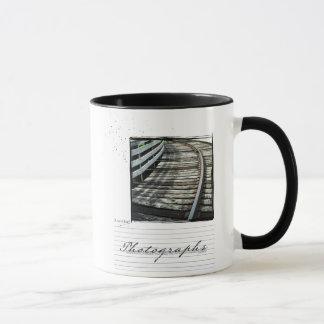 写真撮影旅行のinstagramの写真のマグ マグカップ