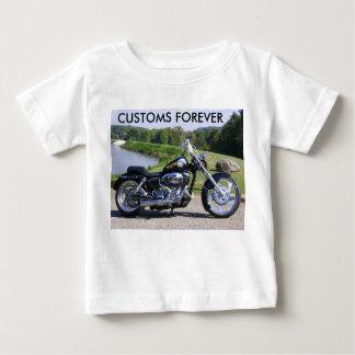 写真011の永久に習慣 ベビーTシャツ