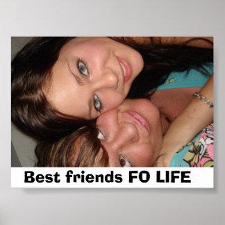 写真263の親友FOの生命 ポスター