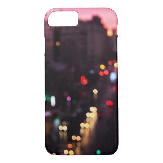 《写真》ぼけ味|ニューヨーク、ニューヨークの都市 iPhone 8/7ケース