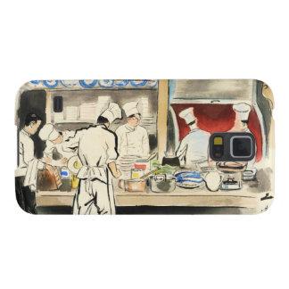 写真、調理師のSanzo Wadaの日本のな職業 Galaxy S5 ケース