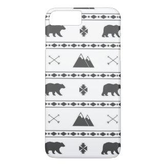 冬くまのiPhone 7のプラスの場合 iPhone 8 Plus/7 Plusケース