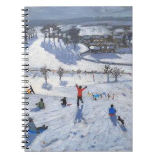 冬のおもしろいChatsworth 2010年 ノートブック