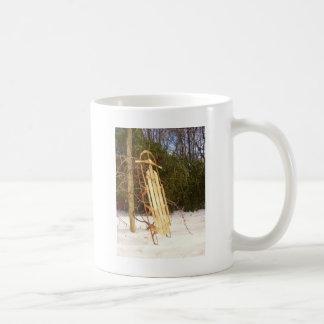 冬のそり コーヒーマグカップ