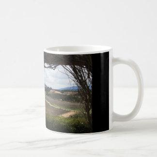 冬のつる植物 コーヒーマグカップ