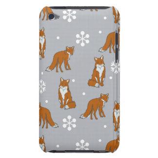 冬のアカギツネパターン Case-Mate iPod TOUCH ケース