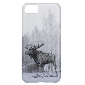 冬のアメリカヘラジカ iPhone5Cケース