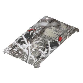 冬のキツツキ iPad MINIケース