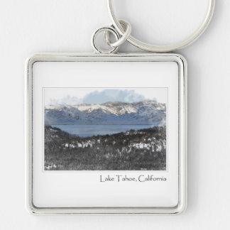 冬のタホ湖カリフォルニア キーホルダー