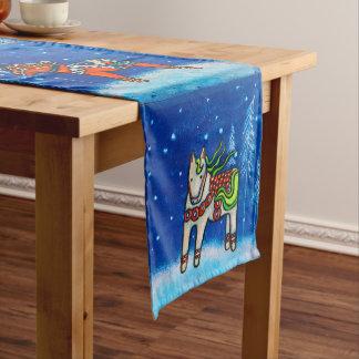 冬のテーブルのランナーのDalaの馬 ミディアムテーブルランナー