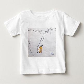 冬のフィンチ ベビーTシャツ