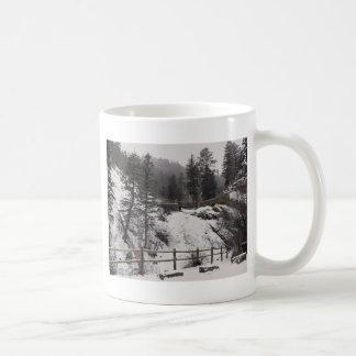 冬のヘレン・ハントの滝 コーヒーマグカップ
