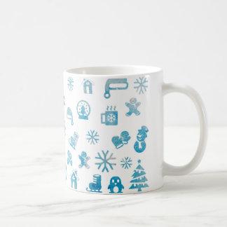 冬のマグ-パターンマグ-彼女の彼のためのギフト コーヒーマグカップ