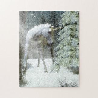 冬のユニコーンのパズル ジグソーパズル