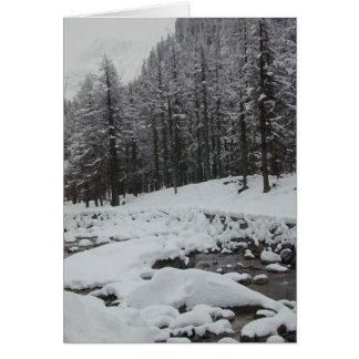 冬の不思議の国 カード