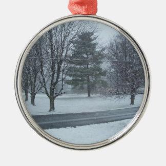 冬の不思議の国 メタルオーナメント