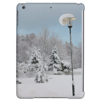 冬の不思議の国 iPad AIRケース