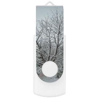 冬の不思議の国 USBフラッシュドライブ