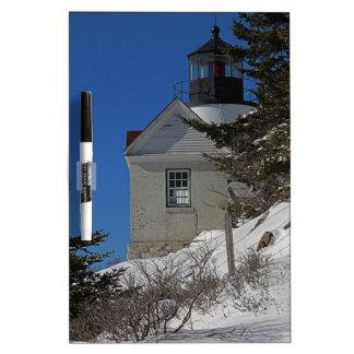 冬の低音港ライト ホワイトボード