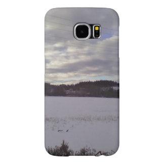 冬の写真 SAMSUNG GALAXY S6 ケース