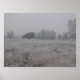 冬の分野 ポスター