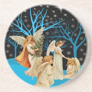 冬の天使のコースター コースター