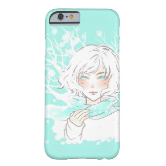 冬の女の子 BARELY THERE iPhone 6 ケース