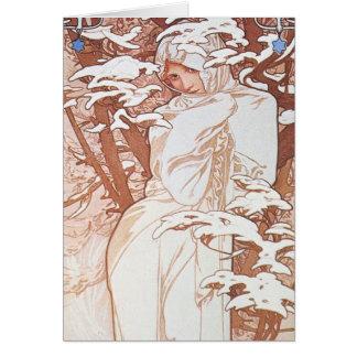 冬の女神 カード