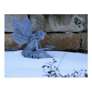 冬の妖精 ポストカード