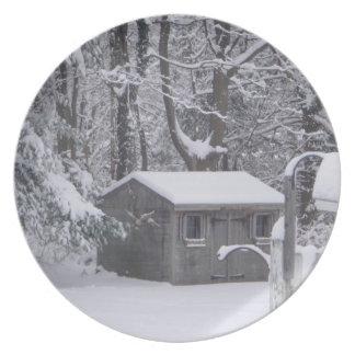冬の孤独 プレート