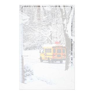 冬の学校への方法 便箋
