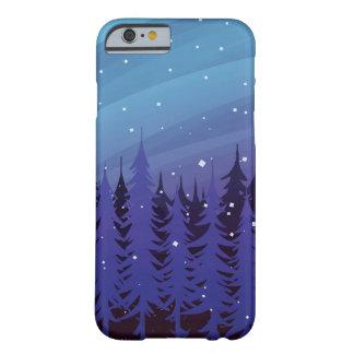 冬の常緑樹 BARELY THERE iPhone 6 ケース
