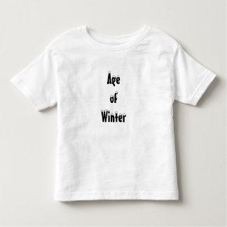 冬の年齢 トドラーTシャツ