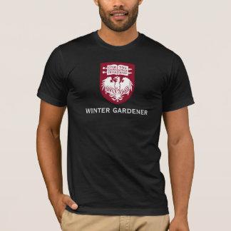 冬の庭師のTシャツ Tシャツ