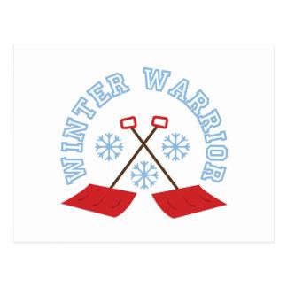 冬の戦士 ポストカード