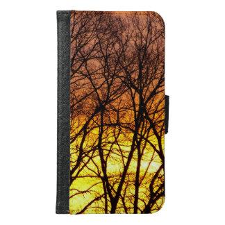 冬の日の出 GALAXY S6 ウォレットケース