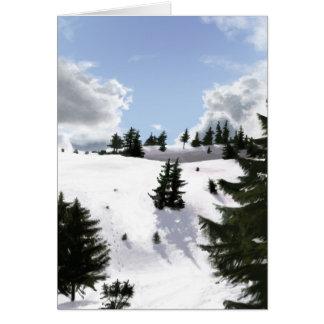 冬の景色 カード