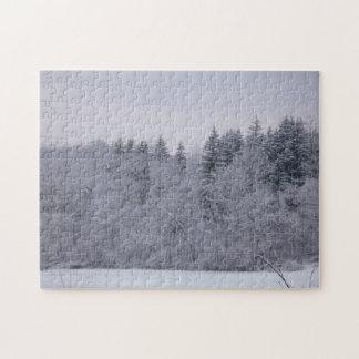 冬の景色 ジグソーパズル
