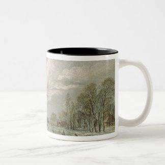 冬の景色 ツートーンマグカップ